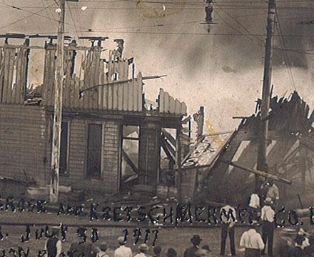 Timeline 1911 Fire